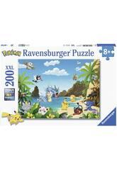 Puzzle XXL Pokémon 200 Pezzi Ravensburger 12840