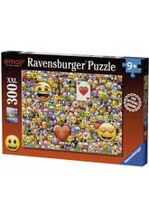 Puzzle XXL Emoji 300 Stücke Ravensburger 13240