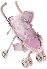 Puppenwagen Mit Haube Valentina Arias 40447