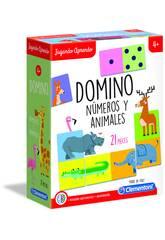 Domino Numeri e Animali Clementoni 55314