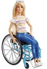 Barbie Silla De Ruedas Mattel GGL22