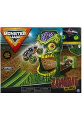 Monster Jam Playset Acrobacias Zombie Madness Bizak 6192 5873