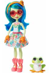 Enchantimals Tamika e la Rana 15 cm con Accessori Mattel GFN43