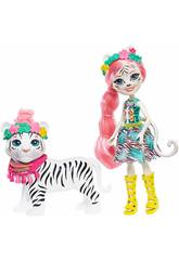 Enchantimals Bambola Tadley Tiger Mattel GFN57