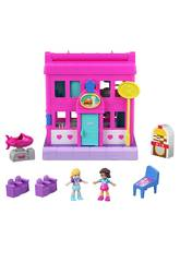 Polly Pocket Pollyville Restaurant Mattel GGC30