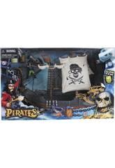 Nave pirata con figure e accessori