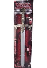 Espada Dorada Guerreros Épicos 61 cm. con Sonidos