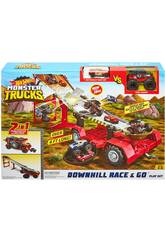 Hot Wheels Monster Trucks Downhill Race & Go Mattel GFR15
