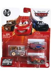 Cars Pack 3 Mini Racers Mattel GKG01