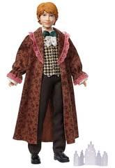 Harry Potter Boneco Ron Weasley Dança de Natal Mattel GFG15
