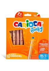 Crayons de Colores 3 en 1 10 Colores Carioca 42818