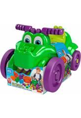 Megabloks Crocodile Collecte Blocs Mattel GFG22