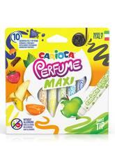 Maxi 10 Colours Parfüm-Filzstifte-Set von Carioca 42989