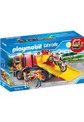 Playmobil Véhicules City Life Dépanneuse 70199