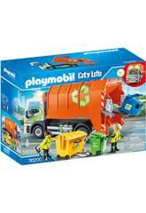 Playmobil Veiculos Cidade Caminhão de Reciclagem 70200