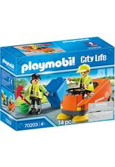 Playmobil Vehículo de Limpieza 70203