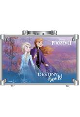 Frozen 2 Makeup Train Case Markwins 1599018E