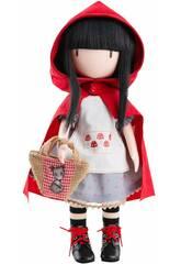 Muñeca 32 cm. Gorjuss De Santoro Little Red Riding Hood Paola Reina 4917