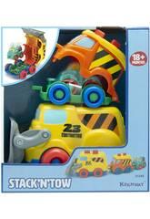 Vehículos Construcción 3 unidades Keenway 31249