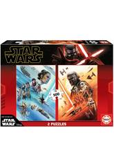 Puzzle 2x500 Star Wars Episodio IX Educa 18361