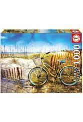 Puzzle 1.000 Bicicleta Nas Dunas Educa 17657