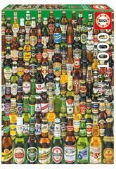 Puzzle 1.000 Bières du Monde Educa 12736