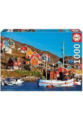 Puzzle 1000 Nordic Houses Educa 17745