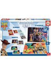 Superpack 4 en 1 Toy Story 4 Educa 18348