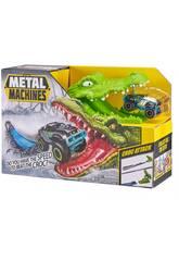 Metal Machines Croc Attack avec Voiture en Métal Zuru 11008023