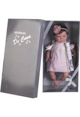 Boneca Reborn Leire 50 cm. Bolinhas Joluca 50101- CA