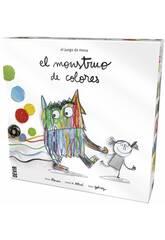 Juego De Mesa Infantil Monstruo De Colores Devir BGMONSP