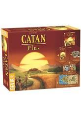 Catan Plus Brettspiel von Devir BGCATPLUS