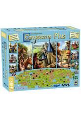Jeu De Société Carcassonne Plus Devir BGCARPLUS3