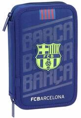 Trousse Double F.C. Barcelone 28 Pièces Safta 411826854