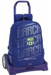 Mochila con Carro Evolution F.C. Barcelona 2ª Equipación Safta 611826860