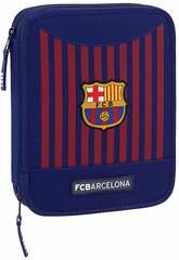 Plumier Doble 56 piezas F.C. Barcelona Safta 411829056