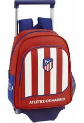 Mochila con Carro 705 Atlético de Madrid 1ª Equipación Safta 611845020