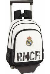 Sac à Dos avec Chariot 705 Real Madrid 1er Équipement Safta 611854020