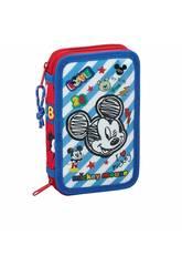 Astuccio Doppio Piccolo 28 Parti Mickey Mouse Safta 411914854