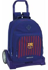 Sac à Dos avec Chariot Evolution F.C. Barcelone Safta 611829862