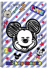 Bloc-notes Couvertures Rigides 80 f. Mickey Mouse Maker Safta 611914855