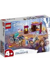 Lego Frozen 2 Aventura em Carroça de Elsa 41166