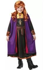 Disfraz Niña Anna con Peluca Frozen 2 Talla M Rubie's 300632-M
