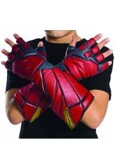 Guantes The Flash Liga De La Justicia Rubies 34273