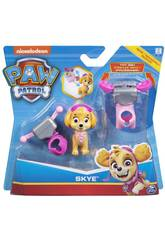Patrouille Canine Pack d'Action Pup And Badge Bizak