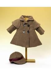 Manteau et Visiere Pied-de-Coque pour Juanín Pérez Mariquita Pérez JP20060