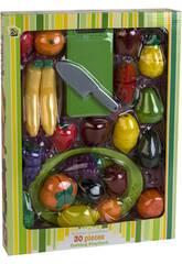 Conjunto Frutas 30 peças