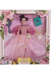 Bambola Maniquí Collezione 29 cm. Rosa Sposa con Accessori