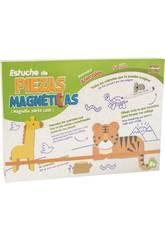 Arte Magnético Maletín Mundo Animal