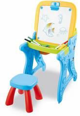 Table Pupitre Tableau avec Accessoires